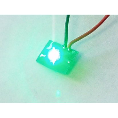 Luxeon I LED - Green 1 Watt (Sale)