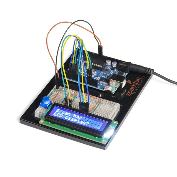 LCD Add-On for SIK