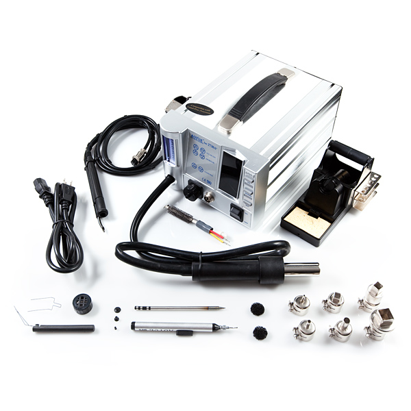 Hot-air Rework Station with Soldering Iron - Lead Free HR2738