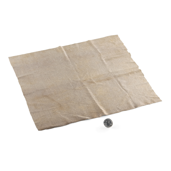 "Conductive Fabric - 12""x13"" MedTex130"