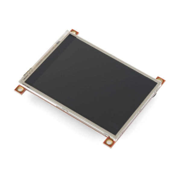 "Serial TFT LCD - 3.2"" with Touchscreen (uLCD-32PTGFX) (Sale)"