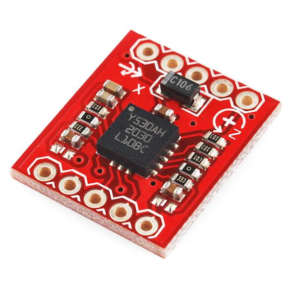 Gyro Breakout Board - LY530AL - 300°/s