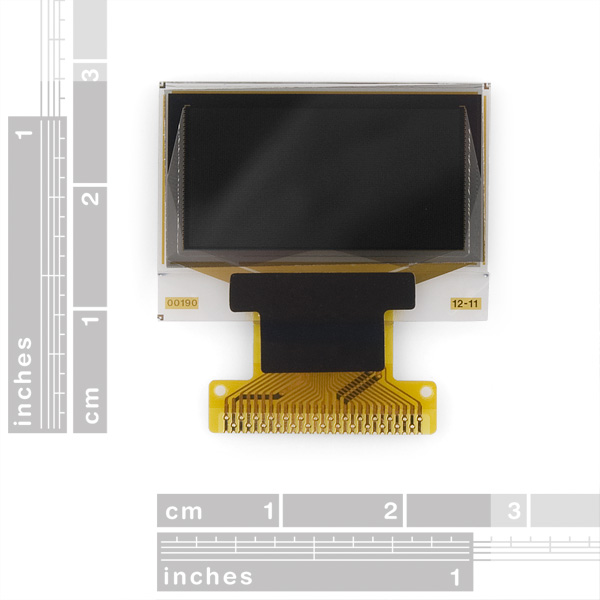 "Graphic OLED Display  - 0.96"" White"