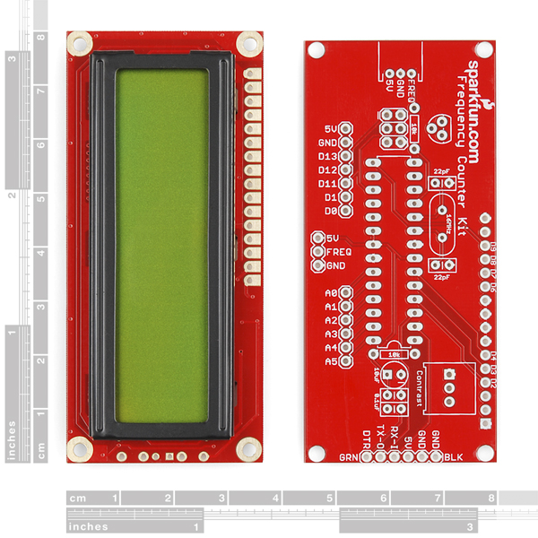 SparkFun Frequency Counter Kit