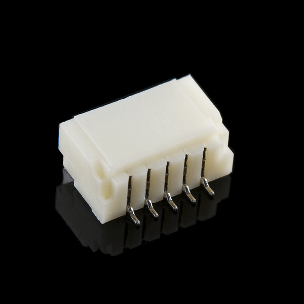 Connector 1.0mm Horizontal - 5 pin