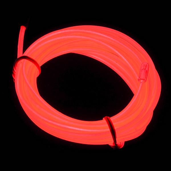 EL Wire - Red 3m