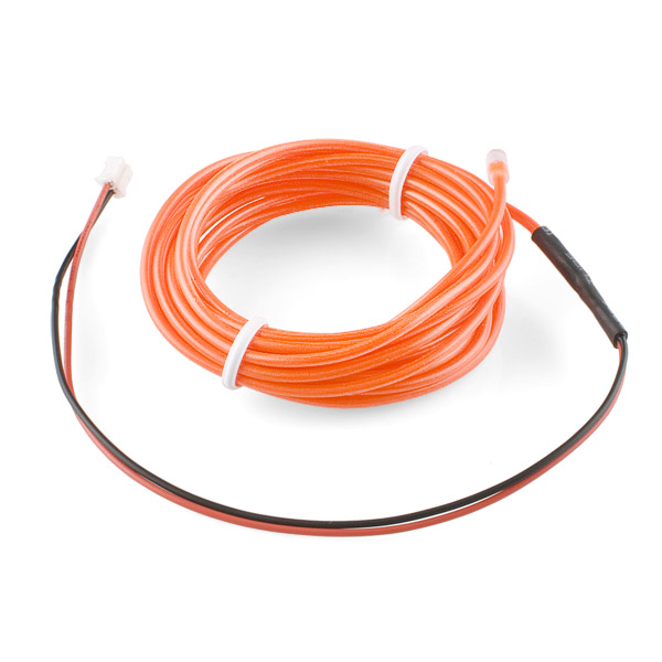 EL Wire - Orange 3m - COM-10193 - SparkFun Electronics