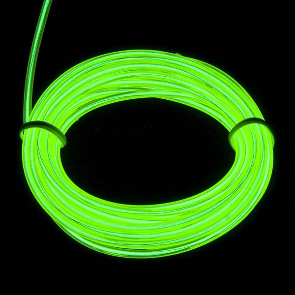 EL Wire - Green 3m