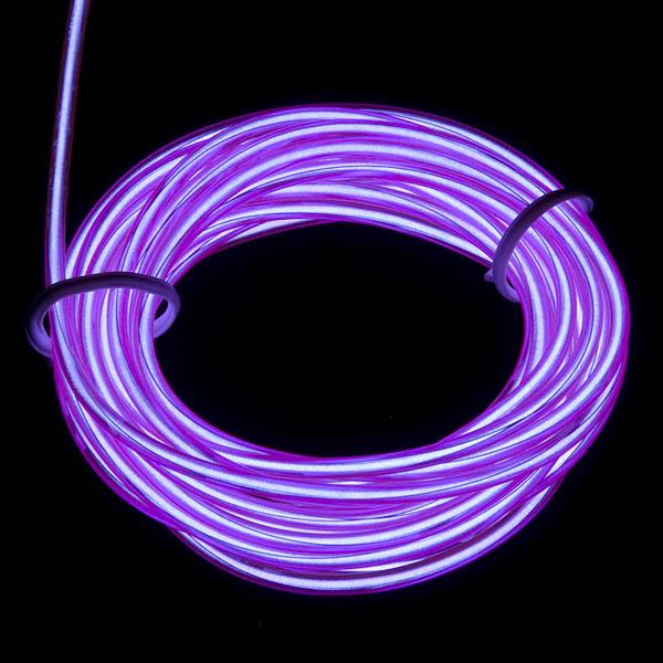 EL Wire - Purple 3m