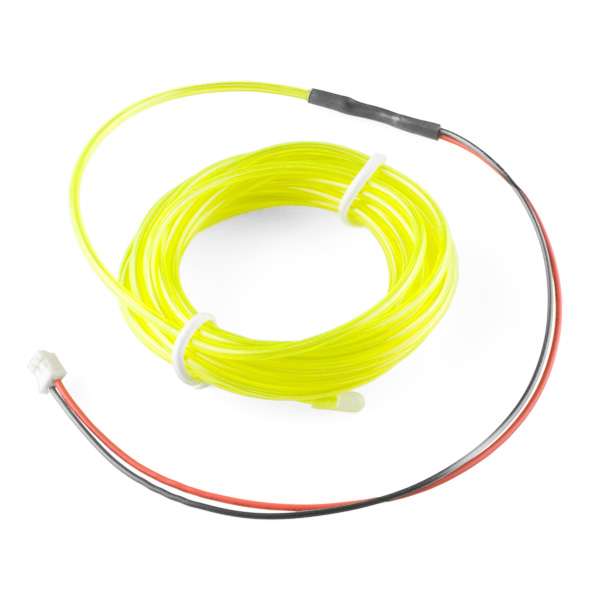 EL Wire - Fluorescent-Green 3m