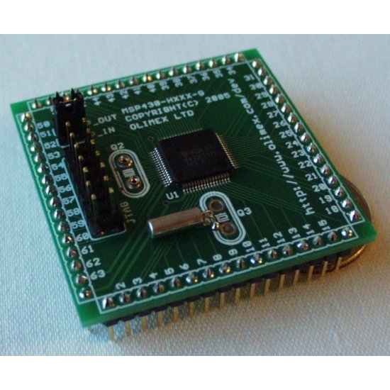 Header Board for MSP430F1611