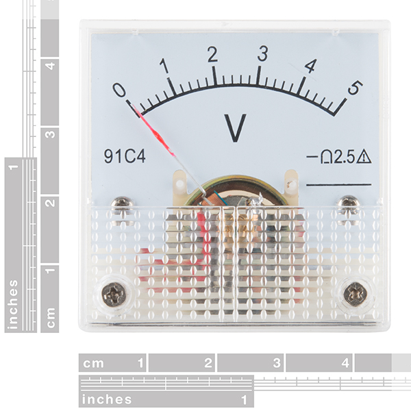 Analog Panel Meter - 0 to 5 VDC