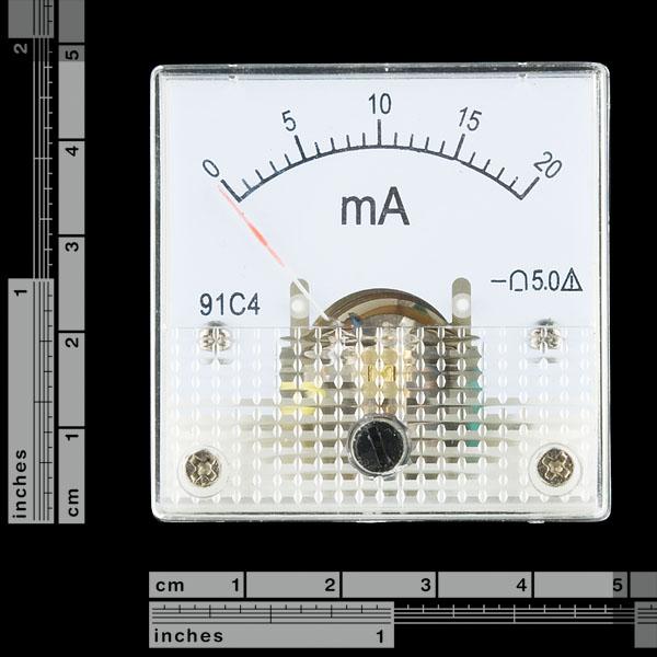 Analog Panel Meter - 0 to 20mA