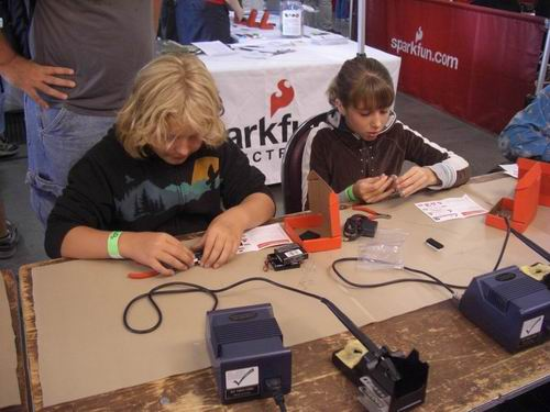 PTH Soldering Class - March 16th, 2011