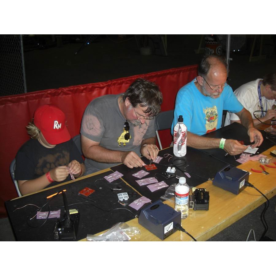SMD Soldering Class - April 14th, 2011