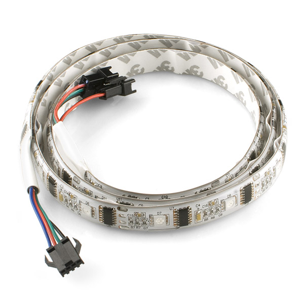 Rgb led strip 32 ledm addressable 1m com 10312 sparkfun rgb led strip 32 ledm addressable 1m aloadofball Image collections