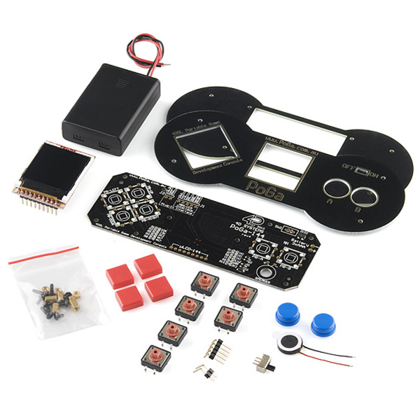 PoGa - Portable Game Development Console Kit
