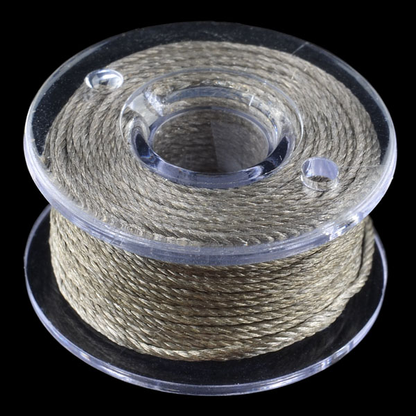 Plastic Bobbin of Conductive Thread - 30'
