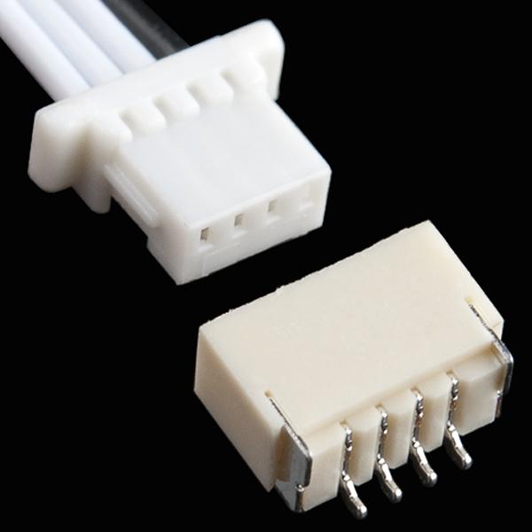 JST SH Jumper 4 Wire Assembly - 8\