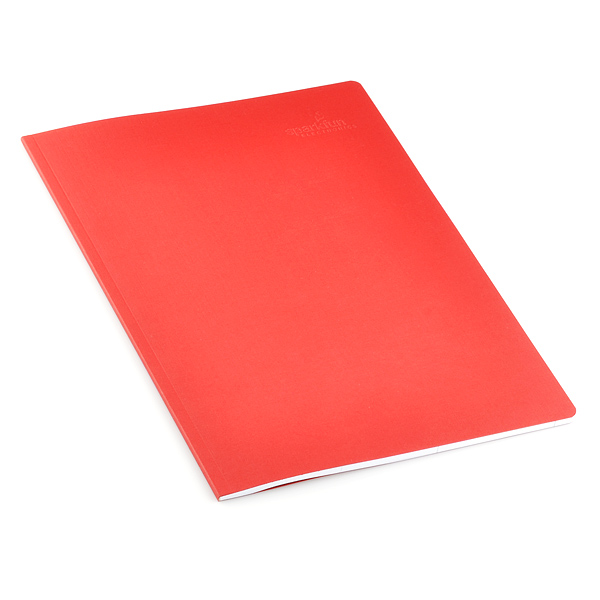 "SFE Project Notebook - 10"" x 7.5"" (Red, White Pages)"
