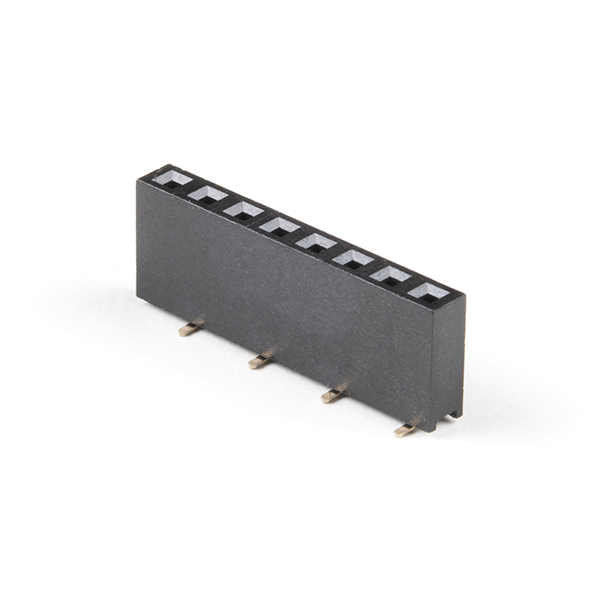 "Header - 8-pin Female (SMD, 0.1"")"