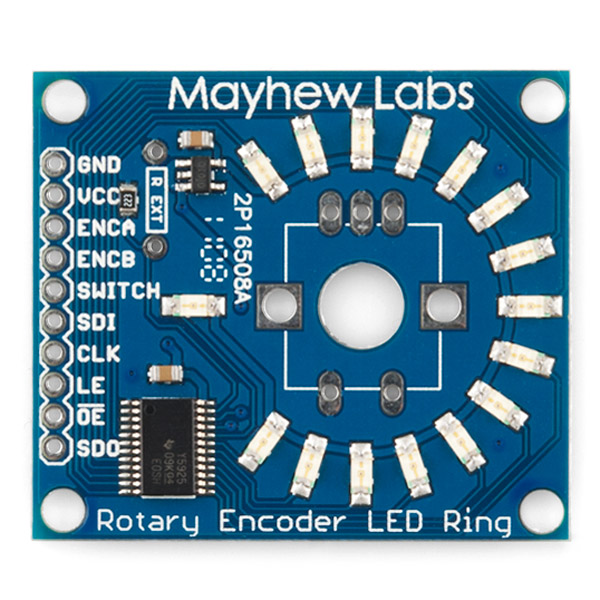 Rotary Encoder LED Ring Breakout Board - Blue