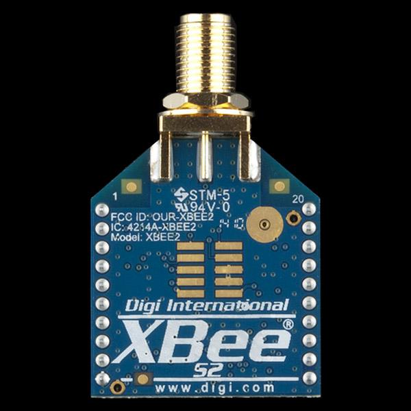 XBee 2mW RPSMA - Series 2 (ZigBee Mesh)