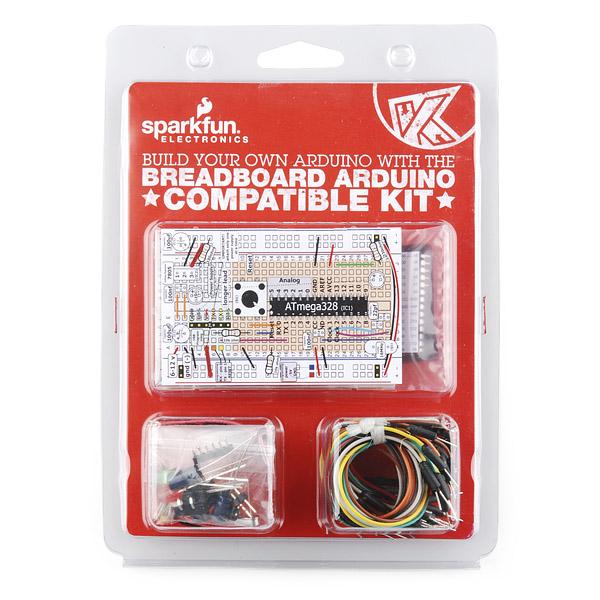 Breadboard Arduino Compatible Parts Kit Retail