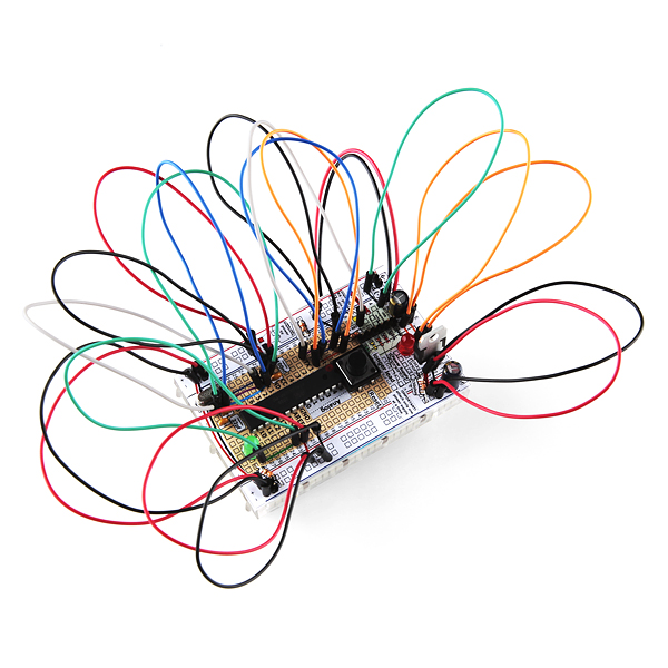 Breadboard Arduino Compatible Parts Kit Retail