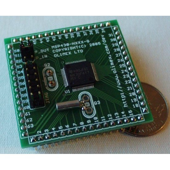 Header Board for MSP430F417