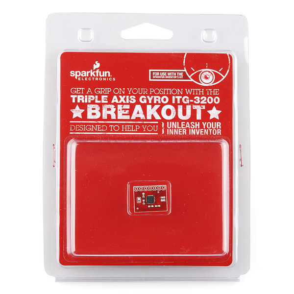 Triple Axis Gyro Breakout ITG-3200 Retail
