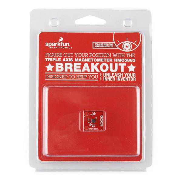Triple Axis Magnetometer - HMC5883 Breakout - Retail