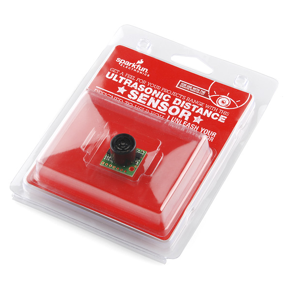 Ultrasonic Range Finder - LV-MaxSonar-EZ1 (Retail)