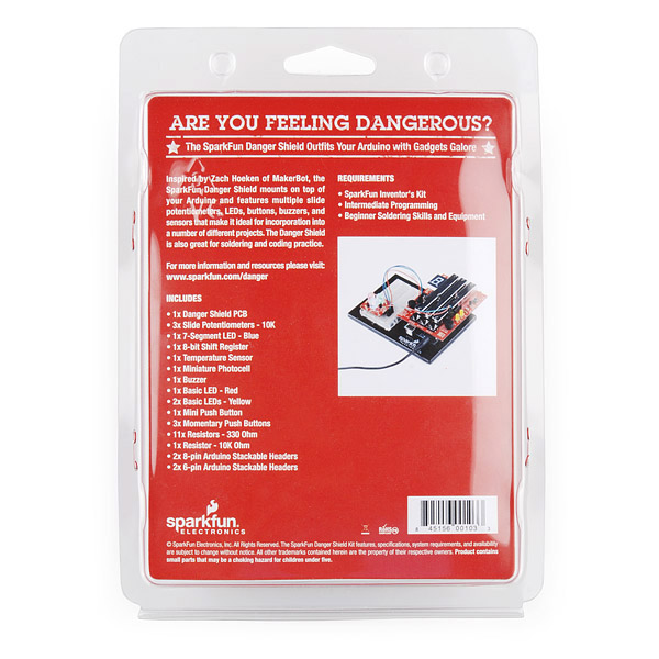 Danger Shield Kit Retail