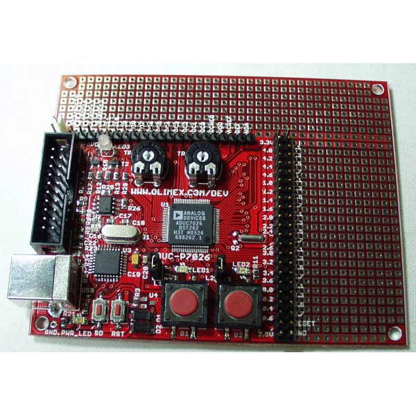 Prototype Board ADuC7026 ARM