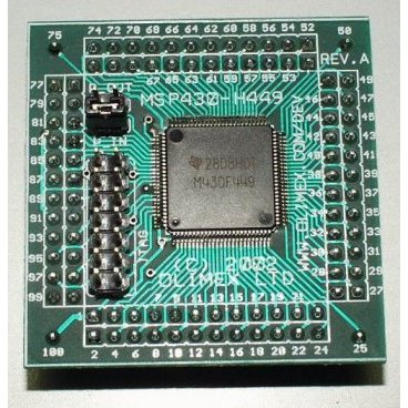 Header Board for MSP430F449