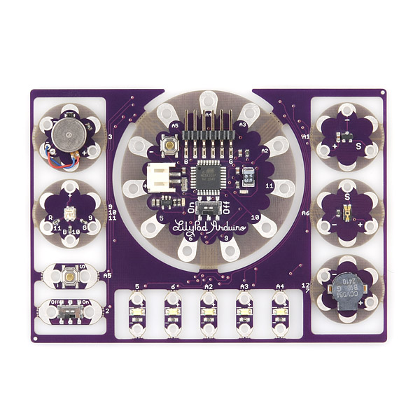 ProtoSnap - LilyPad Development Board
