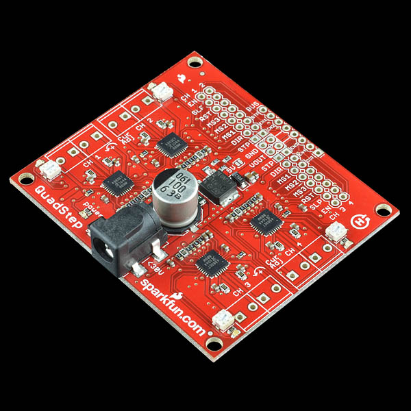 SparkFun Quadstepper Motor Driver Board - ROB-10507 - SparkFun Electronics