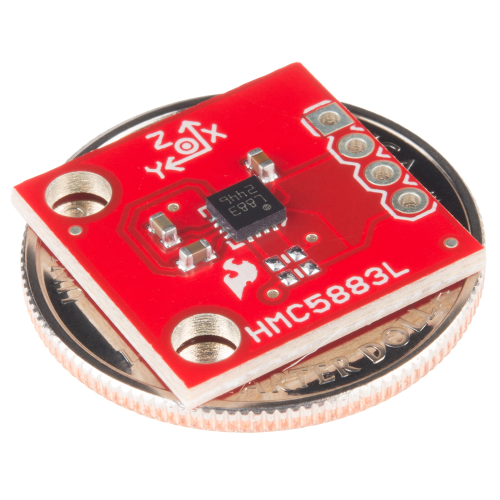 SparkFun Triple Axis Magnetometer Breakout - HMC5883L