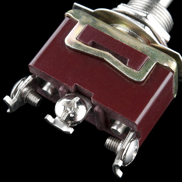 Toggle Switch - Momentary (On-Off-On)