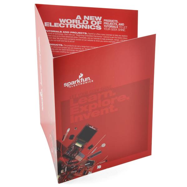 SparkFun Tri-Fold Brochure
