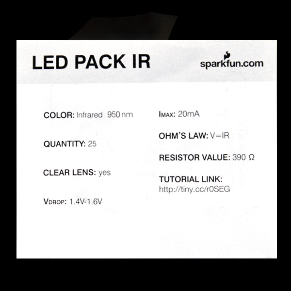 LED - Infrared 950nm (25 pack)