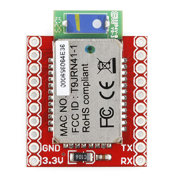 Bluetooth Module Breakout - Roving Networks (RN-41)