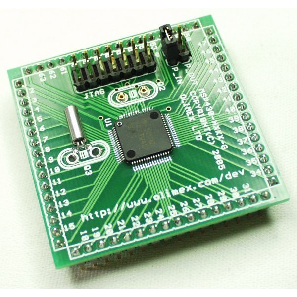 Header Board for MSP430FW427 (Sale)