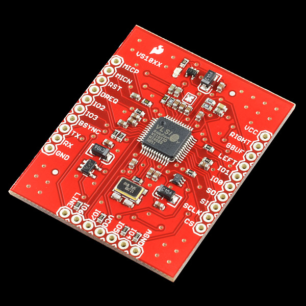 SparkFun MP3 Breakout - VS1033D