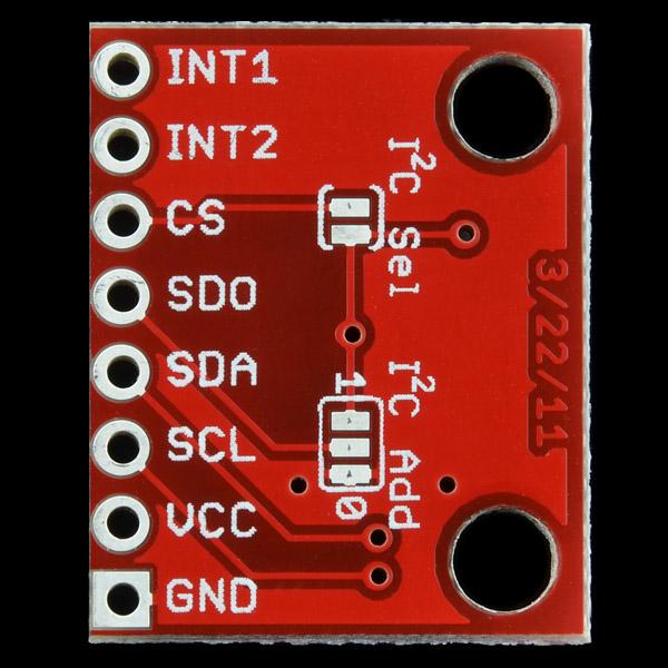 SparkFun Tri-Axis Gyro Breakout - L3G4200D
