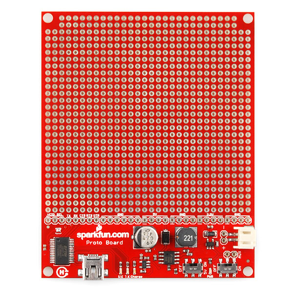 SparkFun ProtoBoard - Koala (USB+PTH)