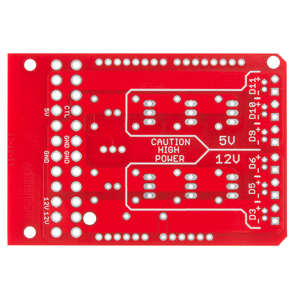SparkFun Power Driver Shield Kit
