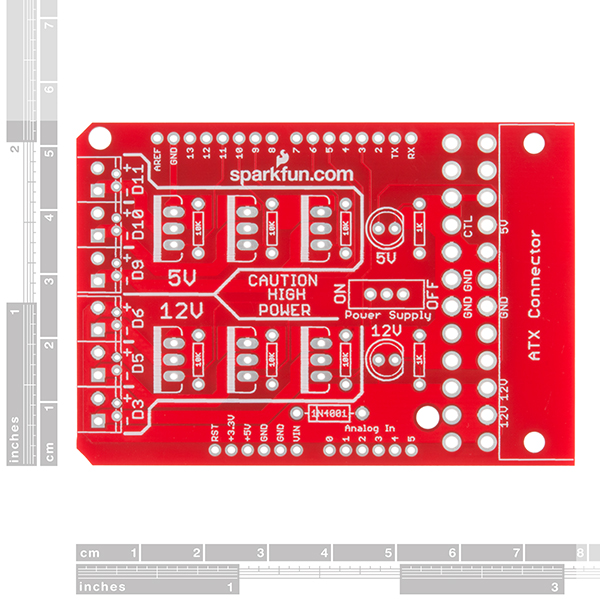 SparkFun Power Driver Shield Kit