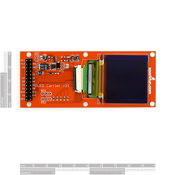 Graphic OLED Color Display 128x128 - Carrier Board